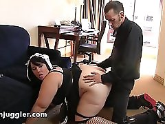 Sexylover4u com Alexxxis Allure Chubby Maid Takes it Doggy