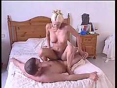 British slut Jan Burton gets fucked again