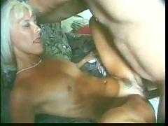 Nice blonde mature with stiff nipples