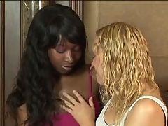 Stacy and Liv Interracial Lez