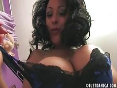 Danica Collins Donna Ambrose Fucks Herself In Pantyhose