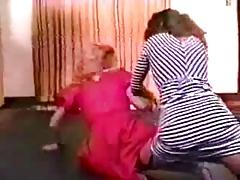 Retro Mom Catfight 2
