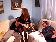Euro double anal hairy pussy and ass