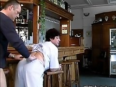 Nasty mature whore goes crazy sucking and riding an har
