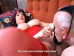 Nora and grandpa love oral