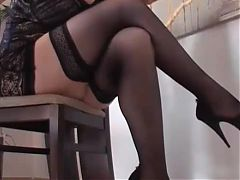 Great Matures ch 002 Stockings Lingerie