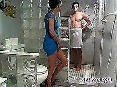 Lelu LoveWEBCAM Facial Shower Poledancing