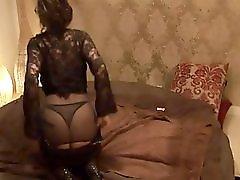Mature Danish prostitute gets stuffed and eats a big load